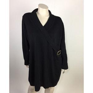 lane bryant 18 20 long sweater pullover v-neck